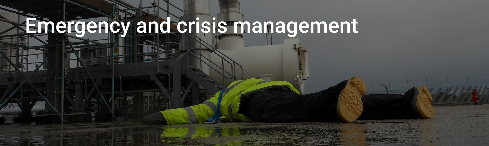 Eddistone Consulting Ltd - Emergency and crisis management